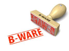B-Ware / mit Fehlern