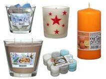 Hier bieten wir Ihnen hochwertige Kerzen...