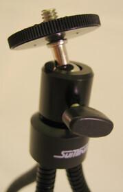 Ultraflexibles Kamerastativ mit 3D-Kugelkopf,130mm lang