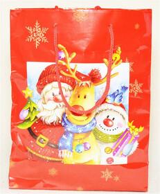 Geschenkset in Weihnachtstasche mit Nivea Seifen und...