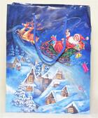Geschenkset in Weihnachtstasche mit Nivea Seifen und Kuschelsocken