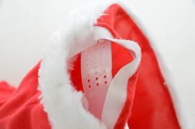 Weihnachtsmütze mit Sound und Bewegung inkl. Batterien