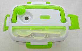 Thermo-Lunchbox mit zwei Fächern, Löffel und...