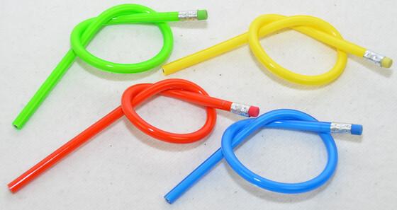 XXL Bleistifte verschiedene Farben 30cm lang, extrem biegsam