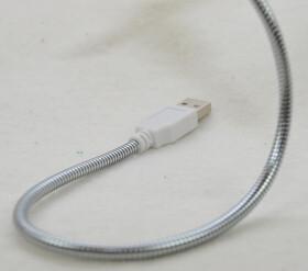 USB Ventilator mit Schwanenhals ideal für Laptop und Computer