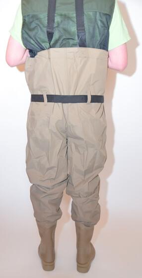 Behr Trendex EverDry Nylon//PVC Wathose Gr 42 mit Stiefeln und Gummisohle