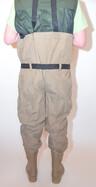 Behr Trendex EverDry Nylon/PVC Wathose mit Stiefeln und Gummisohle in Gr. 39-48