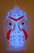 Monster-Light Knicklicht  Jason blau  inkl. Halsband