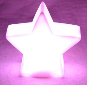 LED Weihnachtslichter in verschiedenen Formen mit Farbwechsel inkl. Batterien