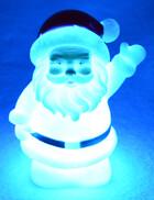 LED Weihnachtsmann Santa mit Farbwechsel inkl. Batterien