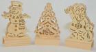 LED Weihnachtslichter aus Holz in verschiedenen Formen