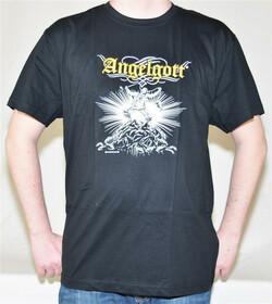 T-Shirt Angelgott mit lustigem Motiv Gr. L