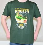 T-Shirt es gibt wichtigeres als Angeln nur was? in Gr. S-XXL