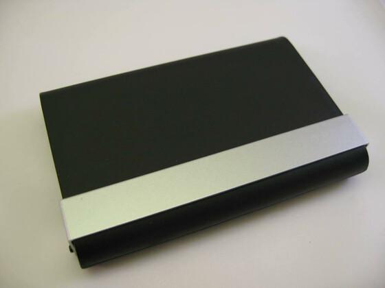 Visitenkartenbox Etui Mit 2 Fächern Für Give Take 4 95