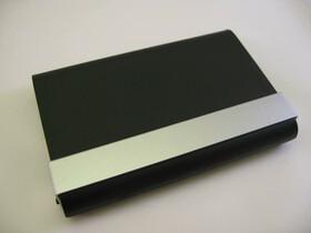 Visitenkartenbox / Etui mit 2-Fächern für Give...