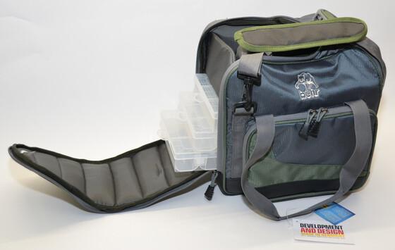 Behr Systemtasche Angeltasche Trendex Baggy 2 mit vier Systemboxen