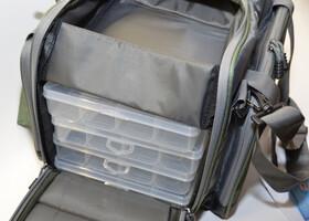 Behr Systemtasche Angeltasche Trendex Baggy 3 mit vier Systemboxen