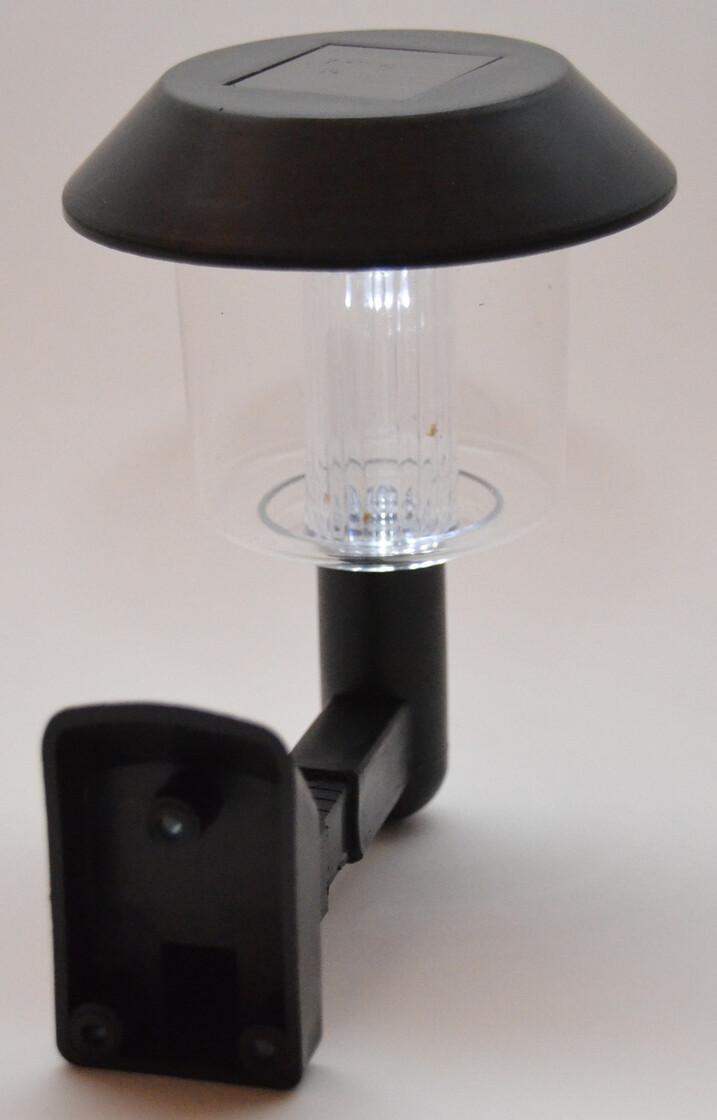 solar led wandleuchte au enbeleuchtung gartenleuchte mit d. Black Bedroom Furniture Sets. Home Design Ideas