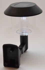 Solar LED Wandleuchte Außenbeleuchtung Gartenleuchte mit Dämmerungsautomatik