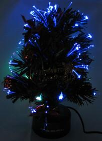 USB LED-Weihnachtsbaum / Baum mit Farbwechsel 24cm Höhe