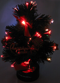 LED-Weihnachtsbaum / Baum mit Batterien 23cm Höhe