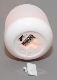 LED Kerzenlicht mit Flackereffekt in vier verschiedenen Farben inkl. Batterien