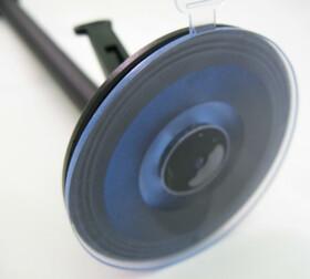 Flexibles 3D-Action Kamera-Stativ mit Saugfuß / 25cm