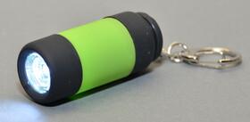 LED Taschenlampe mit Power LED und Karabinerhaken inkl. Batterien