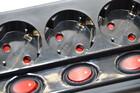 Steckdosenleiste 6-Fach mit einzeln schaltbaren Steckdosen