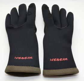 Behr 3mm Neopren Handschuhe Faroe-Ice mit Innenfleece Gr. XL