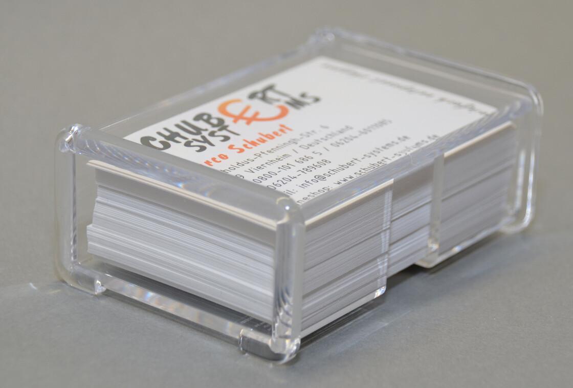 Papier Büro Schreibwaren Visitenkartenspender