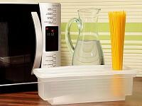 Blitz-Spaghetti-Garer für die Mikrowelle