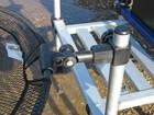 Setzkescherhalter kurz von Behr für alle Sitzkiepen mit 25mm Durchmesser