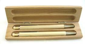 Edles Schreibset aus Ahornholz