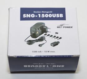 Stecker-Netzgerät Universal-Netzteil McPower 3-12V, max. 1500mA, 18W