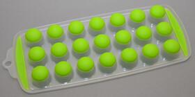 Eiswürfelform aus Kunststoff/Silikon für 21...