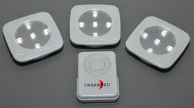 LED Unterbauleuchten 3er Set mit Fernbedienung, Timer und zwei Helligkeitsstufen