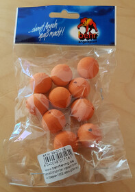 10er Packung Behr Pop-Up´s künstliche Auftriebsköder 16mm Durchmesser orange