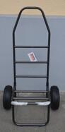 Behr Eco Trolley stabiler und klappbarer Transportwagen mit luftbereiften Rädern