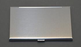 2er Doppelpackung / Visitenkartenetuis aus Aluminium superleicht