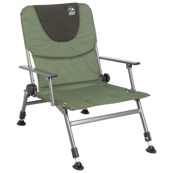 Behr Angelstuhl Campingstuhl Trendex Ecorest verstellbare Füße und Rückenlehne