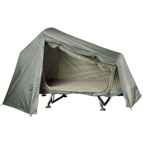 Behr Spezial Zelt für Liegen / Überwurfe für Karpfenliegen bis 2,10m Länge