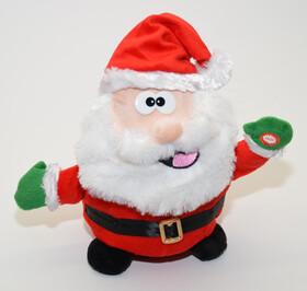 Singende und tanzende Weihnachtsfiguren in zwei Sorten...