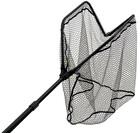 Behr OCTAplus Flexi Großfischkescher gummiert mit faltbarem Kescherkopf