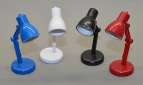 LED Leselampe Klemmleuchte Leseleuchte im Retro Look inkl. Batterien in vier Farben