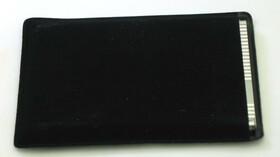 Visitenkartenetui aus Metall in silber glänzend poliert mit Geschenketui