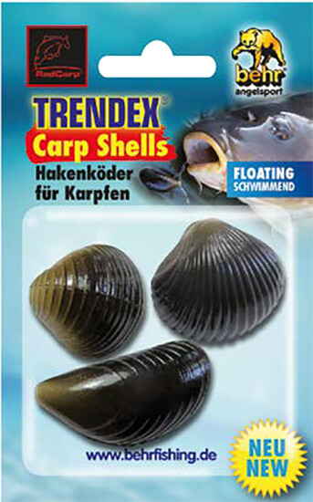 Behr Trendex Carp Shells Hakenköder für Karpfen verschiedene Sorten und als Set