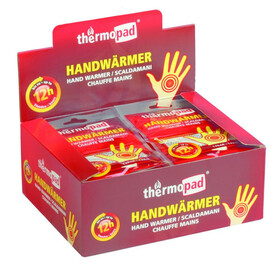 30 Paar Thermopad Handwärmer für bis zu 12 Stunden Wärme