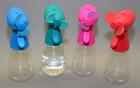 Hand-Ventilator mit Sprühfunktion verschiedene Farben