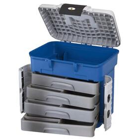 Behr Superbox Sitzkiepe und Transportbox in einem mit vier ausziehbaren Schubladen